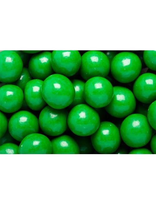 F5032 Dark Green Milk Choc Malt Ball